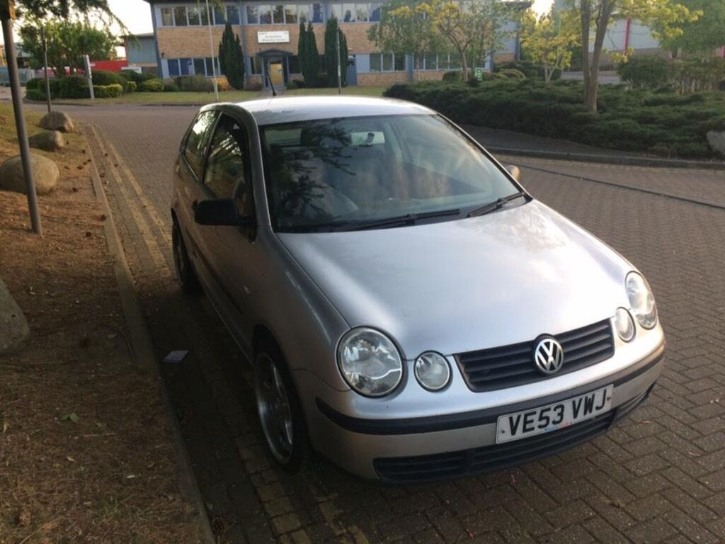 vw polo 9n 1 4tdi 2003 in acton london gumtree. Black Bedroom Furniture Sets. Home Design Ideas