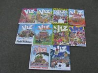 Viz Hardback Annuals x 10
