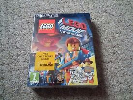 EXCELLENT Lego Videogame Limited Edition PS3 Game RRP £40 BRAND NEW SEALED £15 NO OFFERS