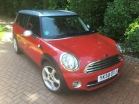 IMMACULATE Mini Clubman Chilli Pack and many Extras, as new Alloys/Tyres, 13 month MOT, Serviced