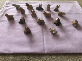 £1... Pot of MINI animals x 16