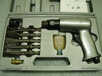 Draper air hammer/chisel in original carry case.