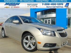 2014 Chevrolet Cruze *Heated seats! *Remote start! *XM! *PST pd!