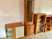 Free - Wooden Wall Cabinets, Shelves