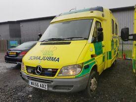 Mercedes 416 CDI Sprinter Ambulance