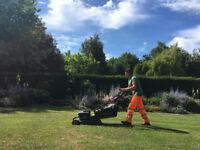 Professional landscaping & gardening: maintenance/paving/line marking/fencing/tree surgery.