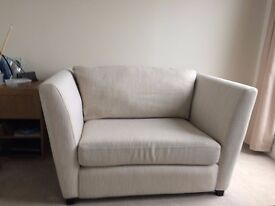 DFS Couture cuddler sofa for sale