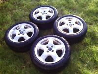 Full set Wolfrace wheels+tyres, £120 ono