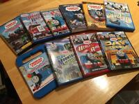 Selection of kids DVDs including Thomas the Tank Engine and more