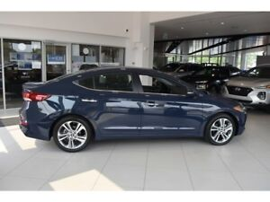 2017 Hyundai Elantra LIMITED w/ NAVI / LEATHER / SUNROOF