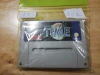 Illusion of Time SNES Supernintendo Super Nintendo PAL UK