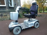 INVACARE COMET MOBILITY SCOOTER, 8mph SILVER - EXCELLENT CONDITION!