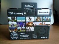 Panasonic Lumix Camera Battery and Case