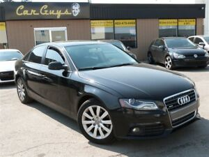 2013 Audi A4 2.0T - Manual, Heated Leather, Roof