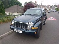 JEEP CHEROKEE CRD 2005 Special Edition 4X4 DIESEL 2.8l MANUAL with tow bar and full MOT