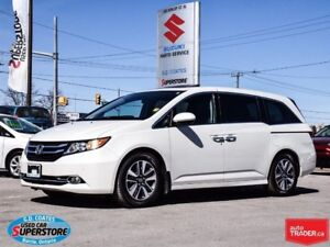 2015 Honda Odyssey Touring ~Nav ~DVD ~Leather ~Power Doors