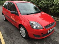 08 FORD FIESTA STYLE 1.4 LITRE DIESEL 3 DOOR HATCHBACK CAR IS MOT'D LOW INSURANCE CHEAP ROAS TAX