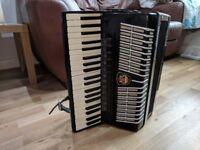 Royal Standard Montafana, 120 Bass, 11+1 Registers, German Piano Accordion