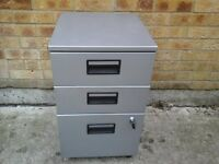 Small lockable filing cabinet