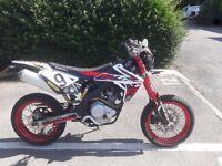 Rieju mrt pro 125 trophy / Yamaha wr125 125cc supermoto enduro mx bike motorcycle motorbike