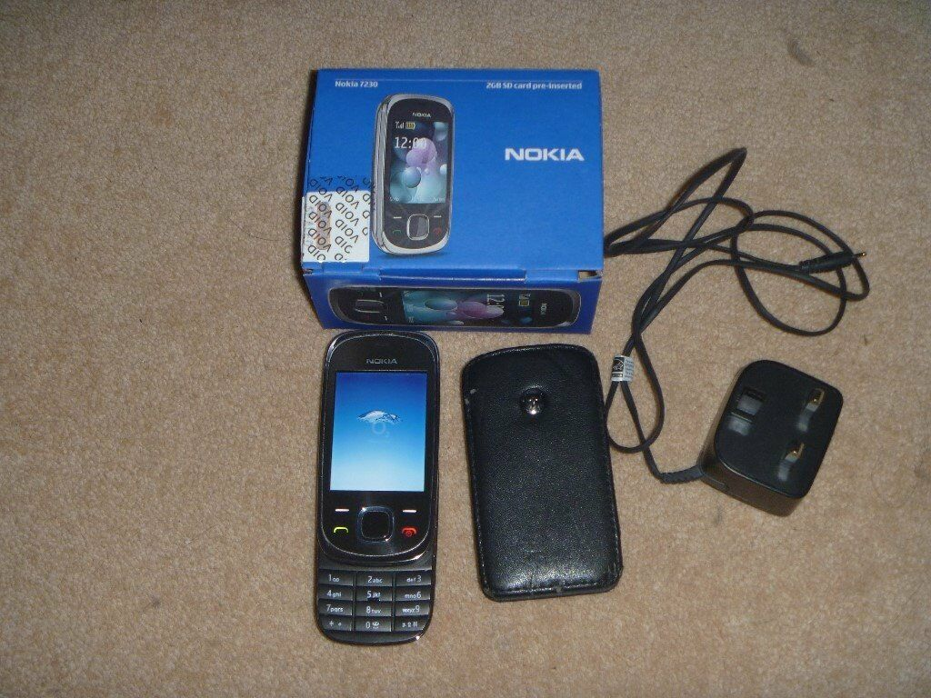 NOKIA SLIDE 7230in Perth, Perth and KinrossGumtree - NOKIA SLIDE 7230 This item is in excellent condition, no scratches, chips or dents, and comes with a charger and the original box and a leather Motorola case that it fits into. From a smoke free home Brand Nokia Camera Resolution 3.0MP MPN 002Q6D9...