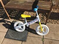 Peppa Pig Balance Bike and helmet