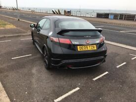 2009 Honda Civic Type R GT FN2 in Black