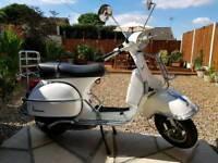 2012 Vespa Px 125 Monte Blanco White