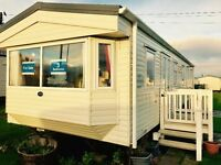 DG & CH static caravan for sale open 12 months Nr Newcastle Sunderland Durham Amble Morpeth Berwick
