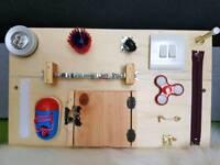 Children Educational Sensory Activity Busy Board Sensory Toy Gift Montessori