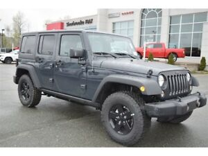 2017 Jeep WRANGLER UNLIMITED Sport 4x4 2 toits+Liquidation