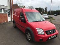 2010 ford transit connect lwb high top 1.8 tdci 12 months mot/3 months warranty