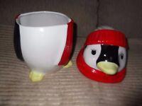 China Penguin biscuit barrel