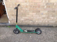 STUNTED DIRT SCOOTER