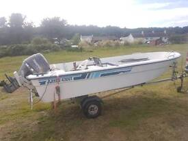 Ryds open fast fisher 14 ft