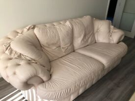 Leather Sofas and chair for immediate sale
