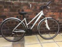 Claud Butler Explorer 400 Ladies bike - 18 inch silver frame now £110!!