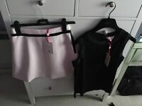 Ted baker skirt size 1 and top size 1