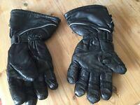 Motor bike gloves large frank Thomas gloves
