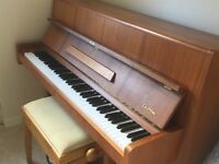 Brooklands piano with stool for sale. Piano in good working condition. Quick sale