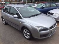 2005/05 FORD FOCUS 1.6 ZETEC CLIMATE,5 DOOR,SILVER,LOW MILEAGE,SERVICE HISTORY,LOOKS+DRIVES WELL