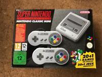 Nintendo Mini SNES - brand new