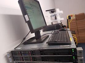 2 x HP ProLiant DL360 Gen9 Base - Xeon E5-2630V3 2.4 GHz