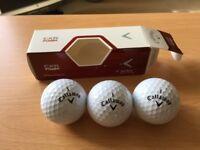 Callaway Golf Balls CXR Power box of three New