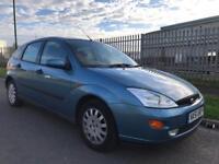 2002 51 Ford Focus 1.6 petrol 5 door drives faultless