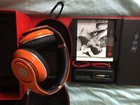 Genuine Dr Dre Beats Orange - unused in original box