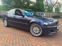 BMW 325i M Sport Manual Petrol Saloon Hpi Clear FSH 120k 330i 330d 328 323 320d 318 type cupra e46 s