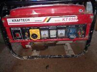 petrol generator spares or repair