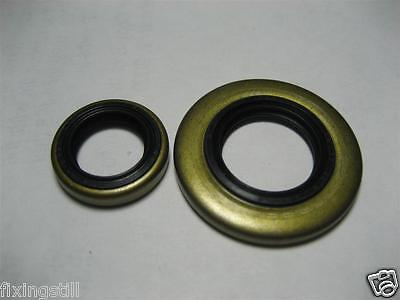 CRANKSHAFT OIL VACUUM SEAL SET (FLYWHEEL + CLUTCH) STIHL 064 EARLY 066 1122s SAW for sale  Shipping to India