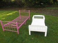 Childs Bed + Bed And Mattress